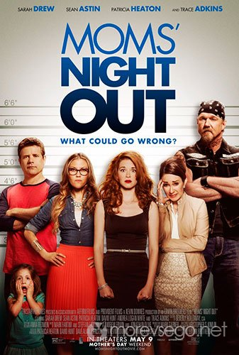 Ночь отдыха для мам / Moms' Night Out (2014/BDRip 720p/HDRip)